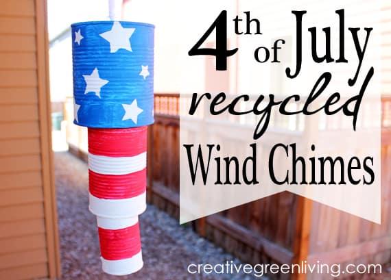 patriotic wind chimes