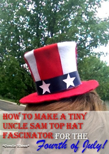 tiny uncle sam hat