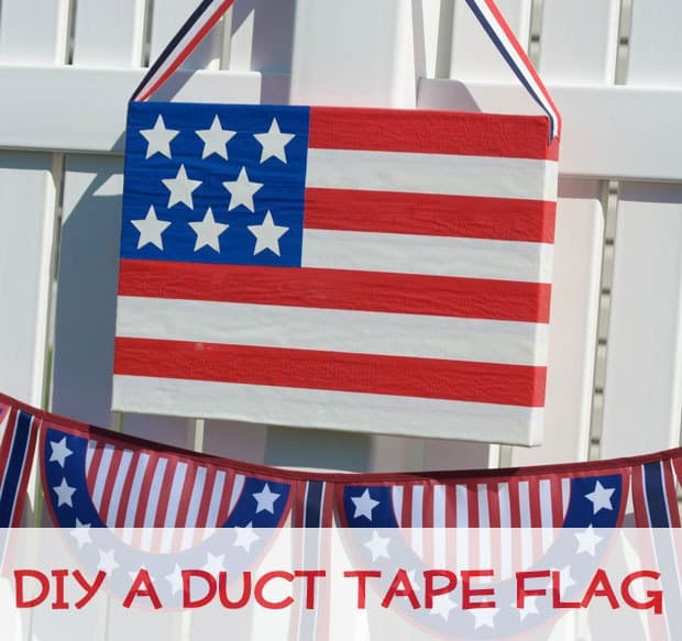 duct tape flag