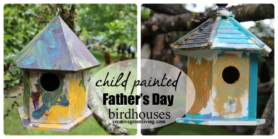 fathers day bird houses