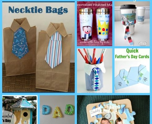 10 Fathers Day #Crafts Your Kids Can Make – #FathersDay