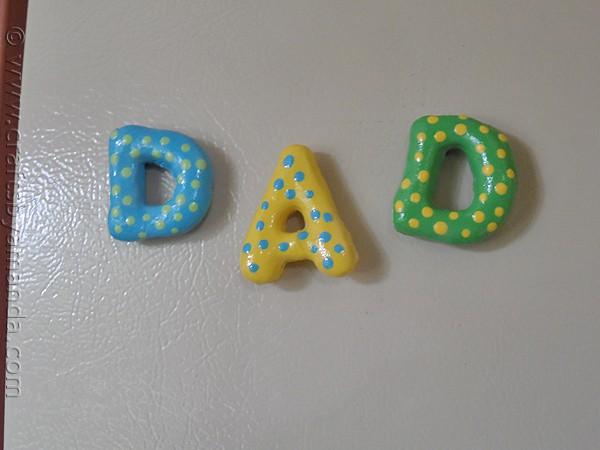 salt dough magnets