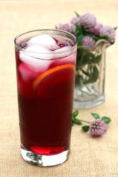 blueberry sweet tea