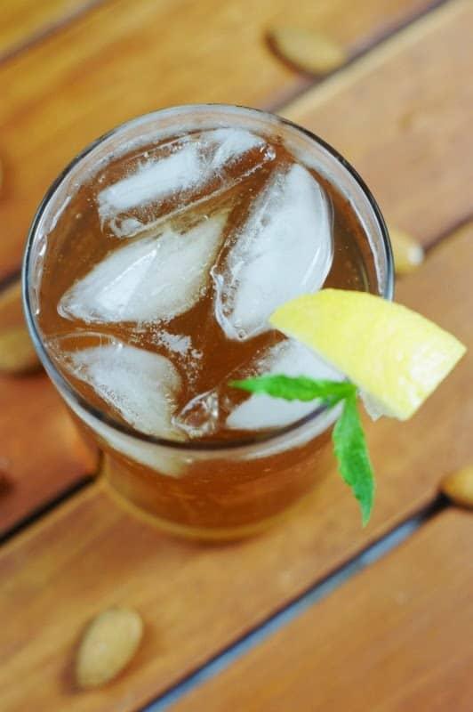 almond iced tea