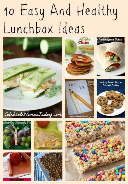 10 Easy And Healthy Lunchbox Ideas