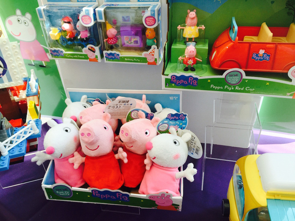 peppa pig blogger bash