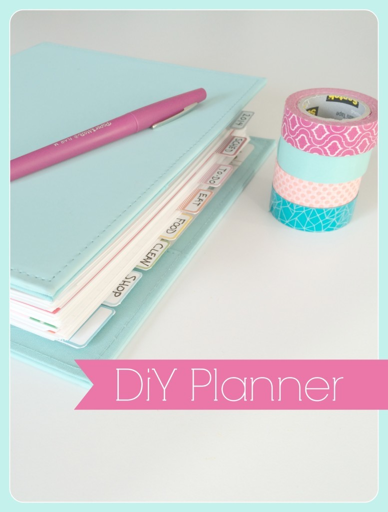 DIY day planner