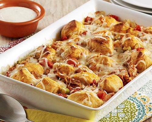 Easy Cooking for Women – Buffalo Chicken Biscuit Casserole Recipe