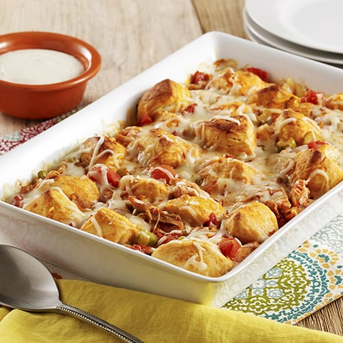 Every woman is looking for an easy festive recipe with chicken and a favorite buffalo sauce. This Buffalo Chicken Biscuit Casserole has a delicious combination to try