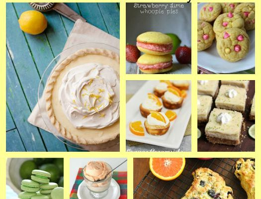 10 Fresh Citrus Desserts To Celebrate The End Of Summer