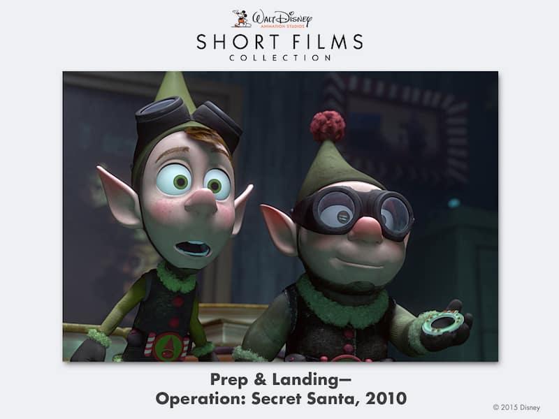 disney shorts Prep-&-Landing