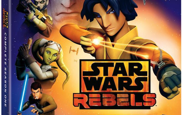 Star Wars Rebels: Complete Season One on Blu-ray and DVD September 1
