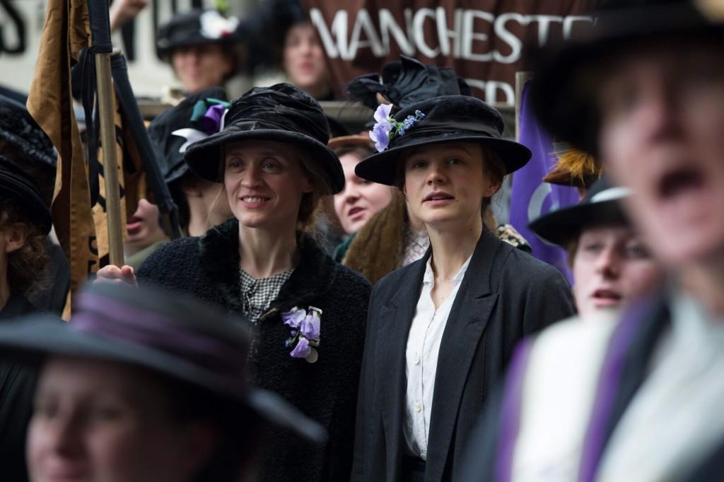 Suffragette-Carey Mulligan