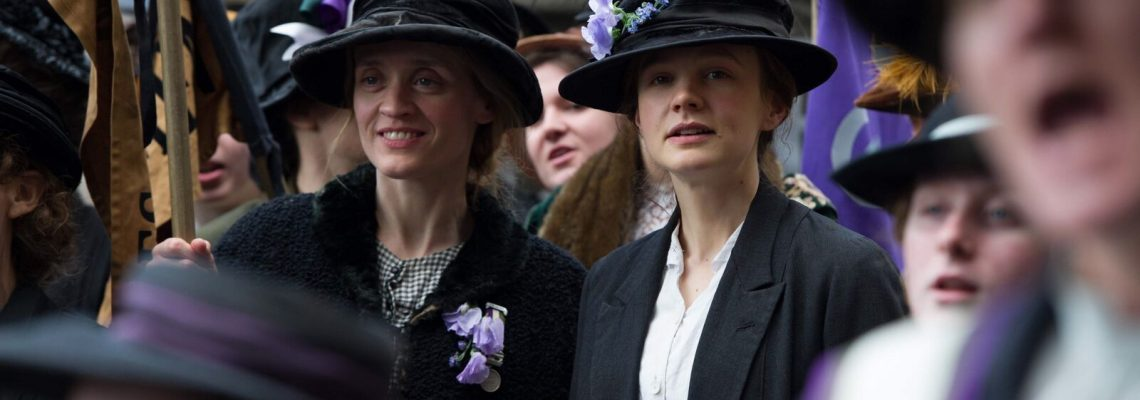 Celebrate Women's Equality Day And SUFFRAGETTE Movie In Theaters In October