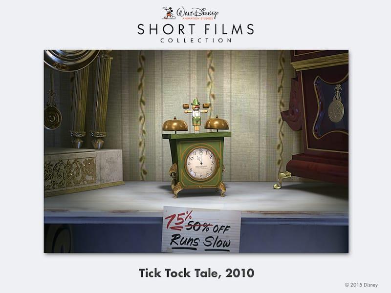 disney shorts Tick-Tock