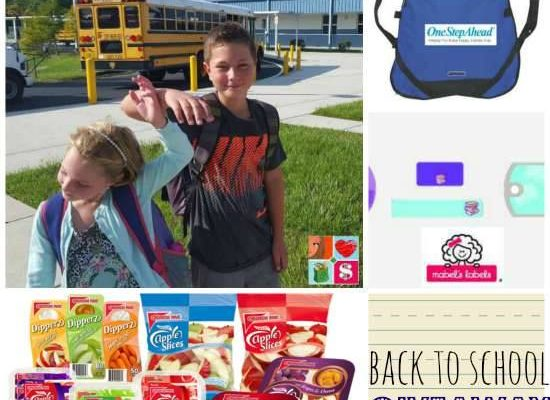 Back To School Giveaway With Coupons, Backpacks, And Labels
