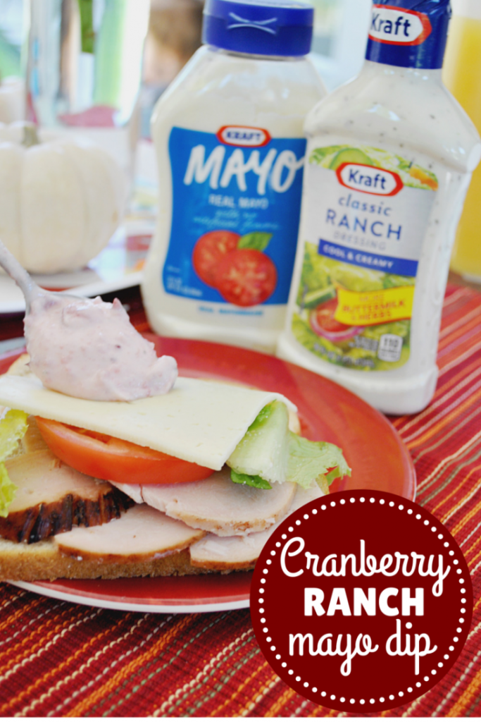 cranberry ranch dip