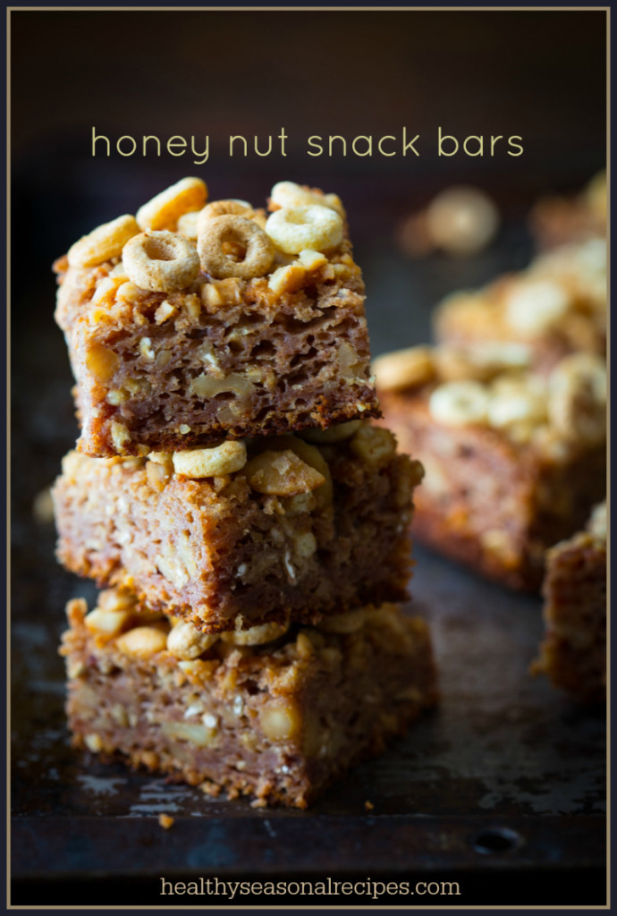 honey nut snack bars