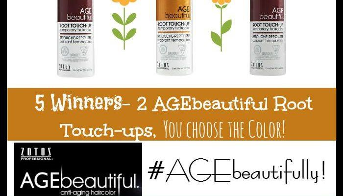 Keep Your Hair Fresh With AGEbeautiful Root Touch-Up Sprays