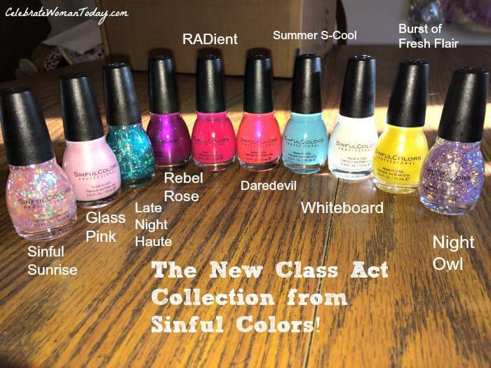 sinful colors nail polish collection