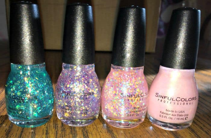 sinful colors glitter
