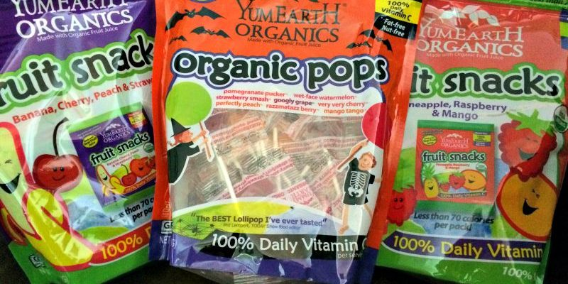 YumEarth Offers #Halloween #Candy That Won't Scare You