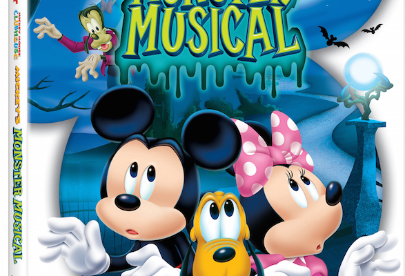 Mickey Mouse Clubhouse: Mickey's Monster Musical on DVD 9/8