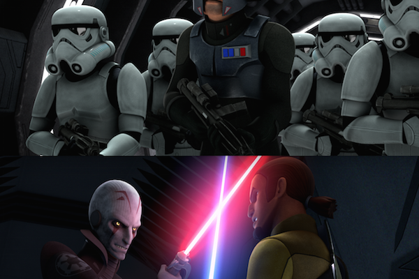 A Spark of Rebellion Ignites the Galaxy in Star Wars Rebels: Complete Season One!