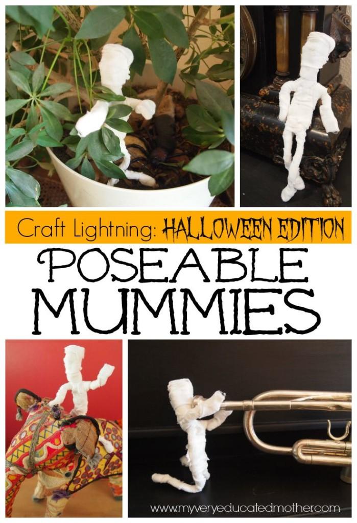 poseable mummies