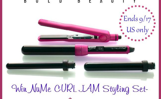 NuMe Curl Jam Styling Set Giveaway for The Hair To Look Gorgeous
