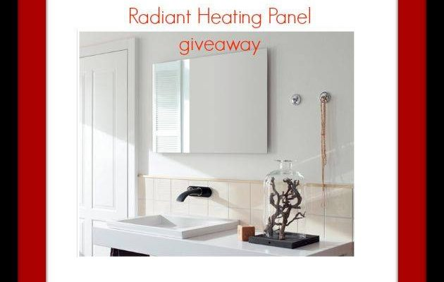 Ember Infrared Radiant Heating Panel giveaway