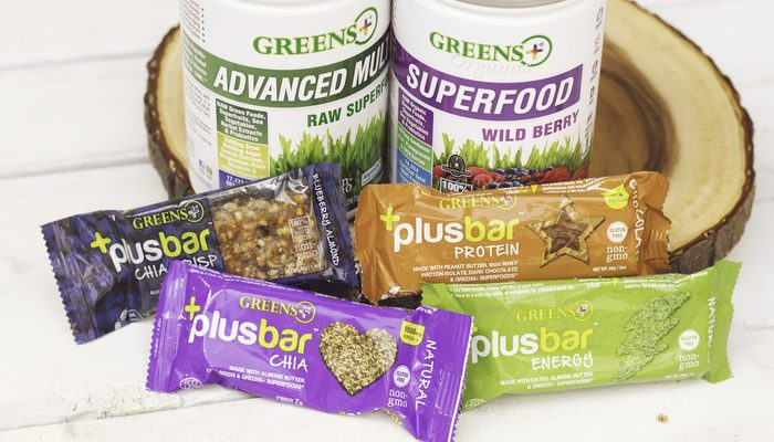 Healthy Snacks Are Possible With Greens Plus Bars: Protein, Fiber, Antioxidants
