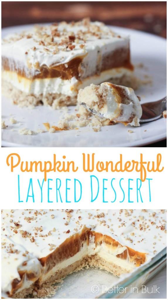 Pumpkin-Wonderful-Layered Dessert