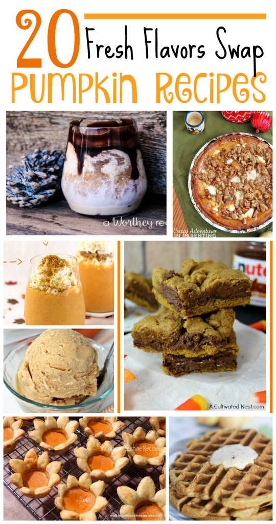 Pumpkin-recipes-Fresh-Flavors-Swap-Recipe-Round-Up