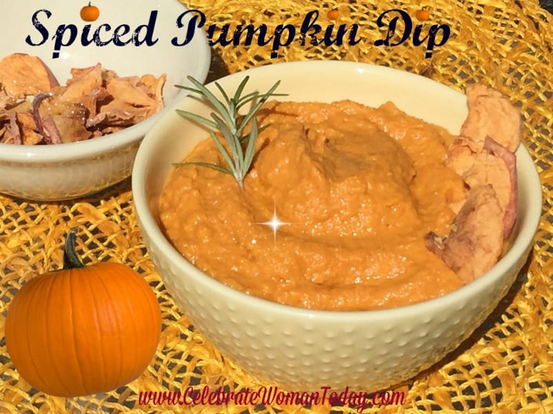 Spiced Pumpkin Dip Recipe