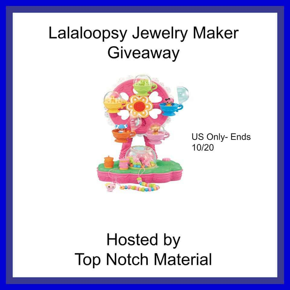Lalaloopsy Jewelry Maker Giveaway