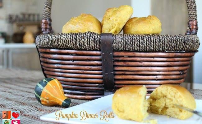 Pumpkin Dinner Rolls – #12DaysOf Thanksgiving Recipes And Crafts