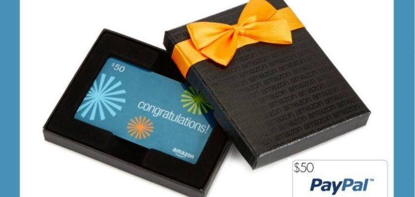 Work Your Fingers on Your Keyboard – Win Amazon or PayPal