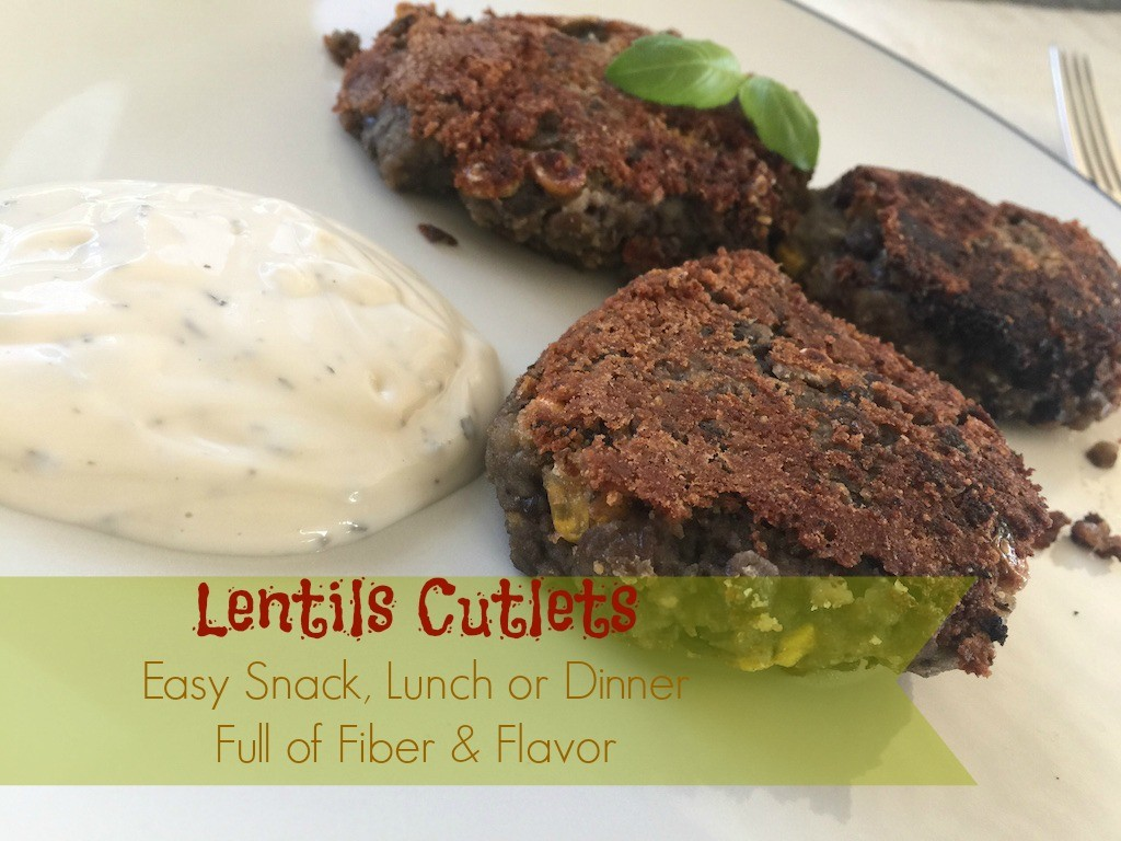 Lentils-Cutlets