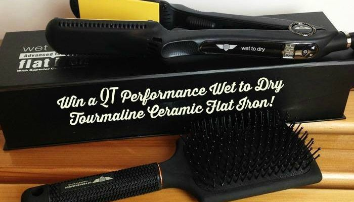 Get Soft Silky Hair With The QT Performance Wet to Dry Tourmaline Ceramic Flat Iron