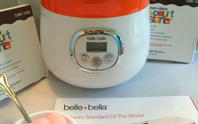 Make Your Own Yogurt At Home With The Belle + Bella Yogurt Maker!