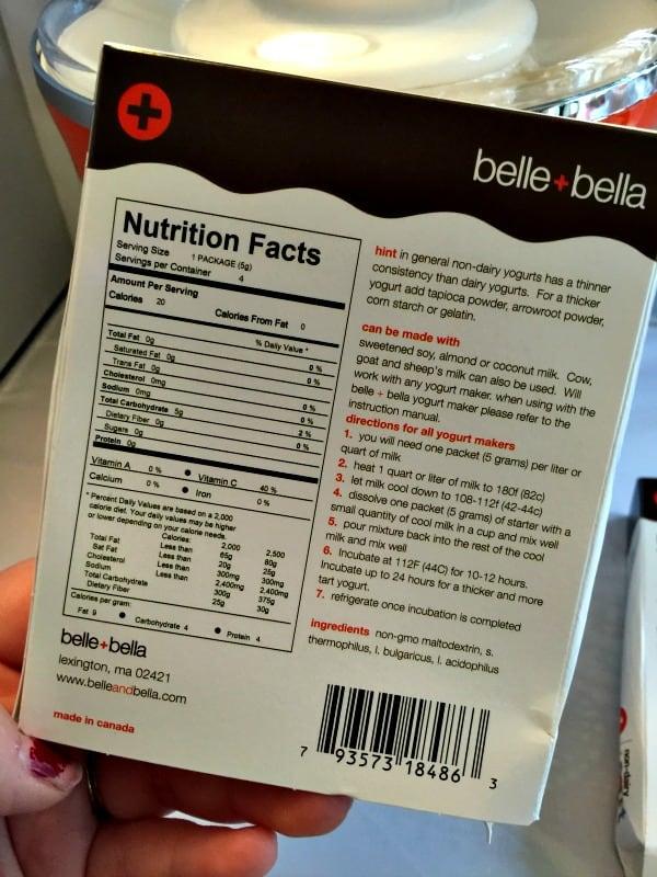 YogurtStarter – America's first non-dairy yogurt starter