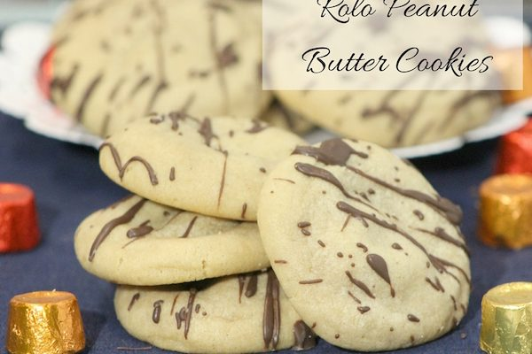 Rolo Peanut Butter Cookies – #12DaysOf Christmas in Recipes And Crafts