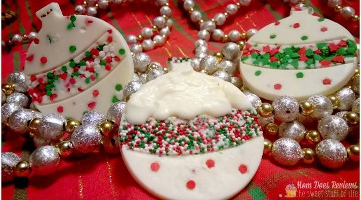 Christmas Chocolate Ornaments In #12DaysOf Holiday Recipes And Crafts