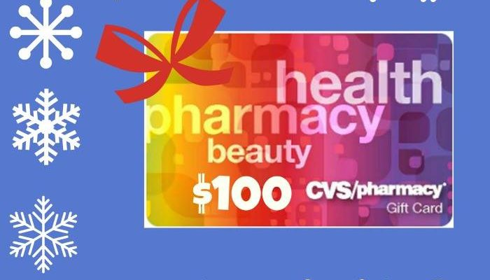 100 cvs gift card to win to ring in merry holidays   mywowgift