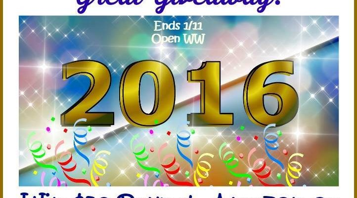 Kick Off New 2016 With PayPal Cash, Walmart Or Amazon Gift Card Prize Giveaway!