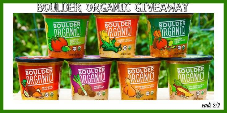 Soup, Anyone? Warm Up With Boulder Organic Soup Collection This Winter!