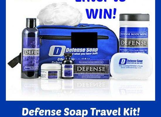 Defend Your Skin On The Go With The Defense Soap Travel Kit