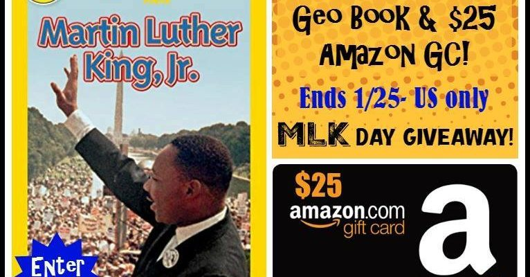 Martin Luther King Book and Amazon Gift Card Giveaway