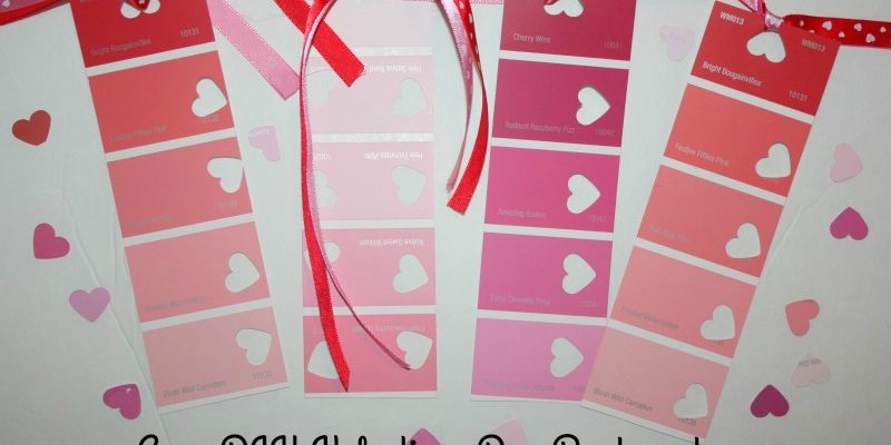 Last Minute DIY Valentine's Day Bookmarks For Your Childs Entire Classroom